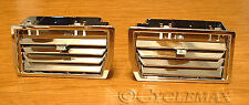 HONDA GOLDWING GL1500 Chrome Lower Vents (52-552) Fit all 1988-2000 models.