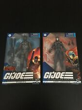 GI Joe Classified Series Set of 2. Roadblock & Cobra Commander. Never Opened