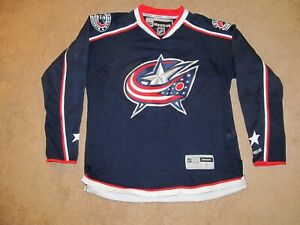 Columbus Blue Jackets NHL Hockey Jersey-Adult L-Reebok