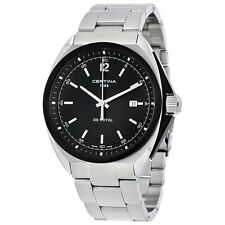 Certina DS Royal  Black Dial Stainless Steel Mens Watch C0104101105101