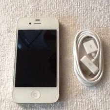 Apple iPhone 4 - 8Gb - White (At&T) A1332 (Gsm) H20 Net 10