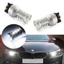 CAN-bus 6000K White LED Turn Signal&Daytime Running Light Bulbs For Audi BMW VW