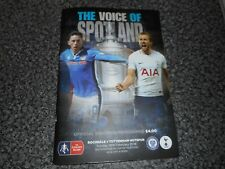 ROCHDALE  v  TOTTENHAM HOTSPUR ' SPURS '  2017/18 F A CUP 5th *****SELL OUT*****
