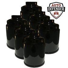 6 - Diesel Fuel Filters fits 13-17 Dodge Ram Cummins 6.7 Turbo Rear