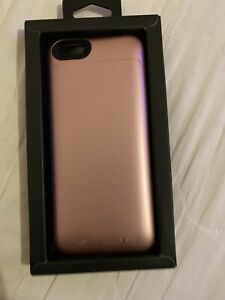 Mophie Charge Force  Case Cover For Apple  iPhone 6/6S Plus Rose Gold