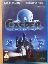 Casper DVD 1995 Friendly Ghost Family Feature Film Movie w/ Christina Ricci