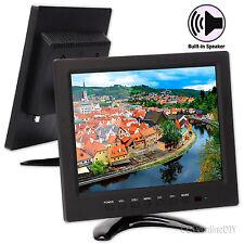 9.7 inch 4:3 TFT Color HD LCD CCTV Surveillance Monitor w/ BNC VGA HDMI AV input