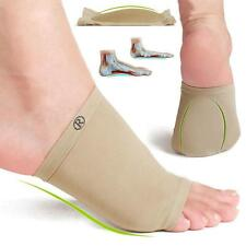 2pcs Flat Feet Orthotic Arch Support Foot Brace Band + Gel Wedge Foot Care JJ