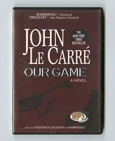 Our Game - by John le Carre - Unabridged Audiobook - MP3CD