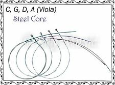New Paititi Viola String Set 12 Inch Viola High Quality Steel Core Ball End