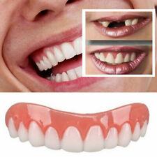 UK Silicone Instant Veneers Fake False White Teeth Simulation Cosmetic Denture
