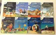 8 livres Les P'TITES POULES Jolibois Heinrich jeunesse enfant PKJ