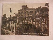 Vecchia foto cartolina d epoca di Cava dei Tirreni Villa Ricciardi casa giardini