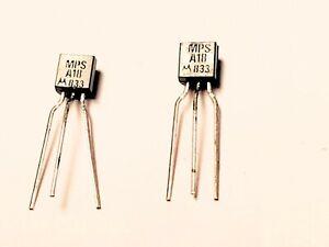 "MPSA18 ""Original"" Motorola  Transistor 2 pcs"