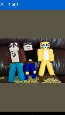 Soft Fleece STAMPY CAT,DANTDM and LEE BEAR Minecraft Toy 11 Inch NOT FELT