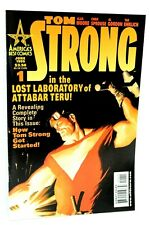 Tom Strong #1 How Got Started Alan Moore 1999 America's Best Comics Wildstorm F+