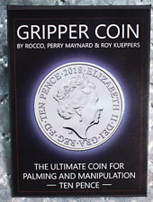 Gripper Coin (Single/British 10 Pence) by Rocco Silano