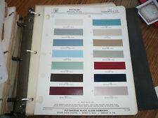 1963 Oldsmobile & F-85 Ditzler PPG Color Chip Paint Sample - Automotive Finishes