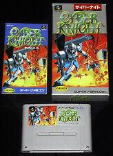 CYBER KNIGHT Super Nintendo SNES Famicom Versione Giapponese NTSC ○○○○○ USATO
