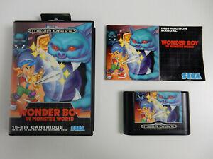 Wonder Boy in Monster World für Sega Mega Drive - PAL - CIB - komplett !