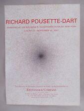 Richard Pousette-Dart Art Gallery Exhibit PRINT AD - 2007