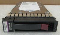 HP 450GB 3.5'' LFF Dual Port SAS 3G 15K Hard Drive 454274-001 454232-B21 G6 G7