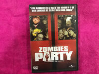 ZOMBIES PARTY DVD SHAUN OF THE DEAD TERROR / COMEDIA ROMANTICA CON ZOMBIES ...