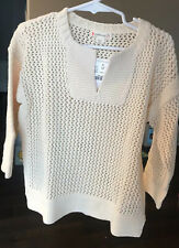 Ivory Crewcuts Long Sleeve Sweaters (Sizes 4 & Up) for Girls