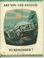 Are You Old Enough To Remember 1920s Booklet Pro Small Farms
