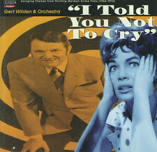 Gert WILDER & ORCHESTRA - I TOLD YOU NOT CRY - Soundtrack - CD NEW