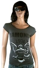 Amplified Official Ramones 1974 Eagle tatuaje Rock Star Vintage VIP t-shirt g.s