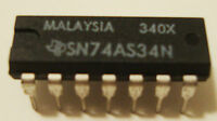 1 pc Texas Instrument TI PORTUGAL SN74LS174N 8514CR NEW Old Stock