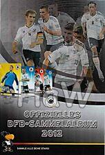 REWE DFB Sammelkarten Euro 2012 - Komplett alle 38 Karten mit Leeralbum