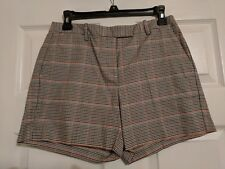 Tommy Hilfiger Women's Size 4 Brown Herringbone print shorts - new