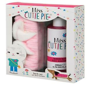 Girls Bubble Bath Body Wash Strawberry Kids Bath Time Headband Cat Design