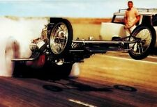 1960's Front Engine Rail Burnout Wheelstand Drag Racing 13x19 Poster Photo