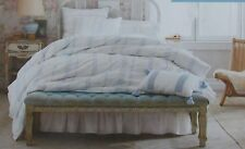 Simply Shabby Chic Bohemian Blue Embroidered Duvet Cover Sham Set ~ NEW F/Queen