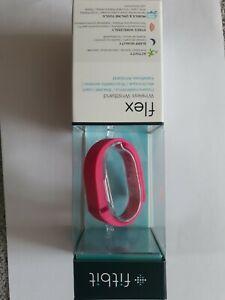 Fitbit Fitness-Tracker Flex Wireless Pink Schrittzähler Distanzmesser