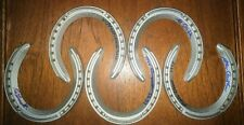 Triple crown horseshoe set autograph (5) Turcotte, Cruguet, Smith, Espinoza, Cau