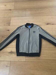 Addidas Tracksuit Top / Zipped Jacket - Size 8
