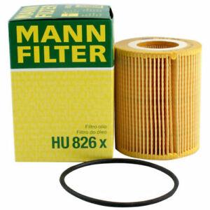 Mann-filter Oil Filter HU826x fits Citroen C6 TD_ 3.0 HDi