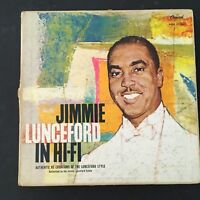 Billy May &His Orchestra: Jimmie Lunceford In Hi-Fi 1957 Jazz LP Vinyl Record