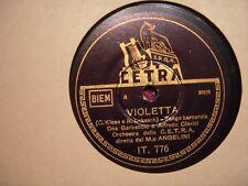 78 GIRI TRIO VOCALE SORELLE LESCANO  DEA GARBACCIO ALFREDO CLERICI OTELLO BOCCAC