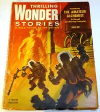Thrilling Wonder Stories - US pulp - Fall 1954 - Vol.44 No.2 - Murray Leinster