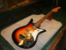vintage 60s teisco DEL REY electric guitar