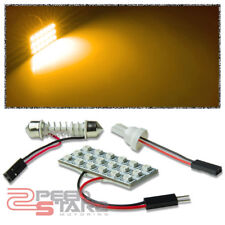 T10 3528 194/168/W5W 18SMD BRIGHT AMBER LED INTERIOR DOME/MAP WEDGE LIGHT/BULB