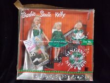 Barbie Stacie Kelly Dolls 2000 Singing Holiday Sisters Mattel box set