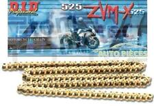 CHAINE DE TRANSMISSION 525 ZVM-X DID GOLD - 108 MAILLONS