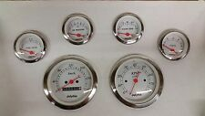 DOLPHIN 6 METRIC MECHANICAL STREET ROD GAUGE SET STREET ROD HOT ROD, UNIVERSAL