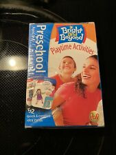Bright And Beyond Playtime Activities Cards Pal Toys Ages 3-5 52 Idea Cards